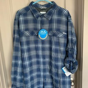 Columbia Omni- shade shirt for men NWT